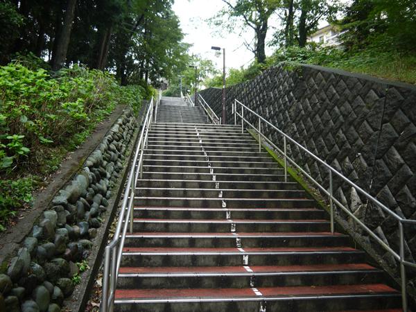 雫が駆け降りる階段(多分)